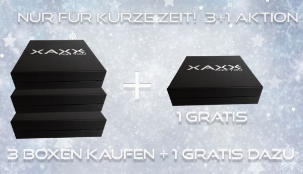 XAXX Parfum Tester 3 +1 Aktion