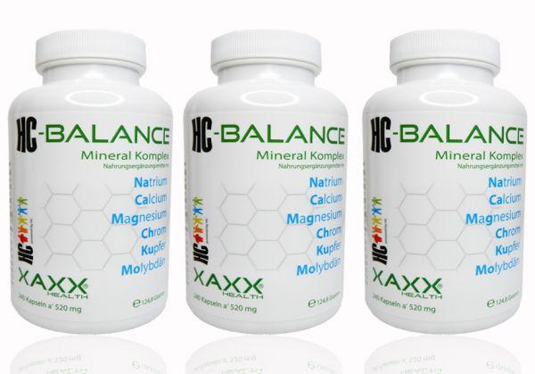 HC-Balance Mineral Komplex 3er-Set