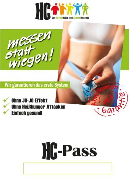 HC-Pass mit Body-Control-Plan