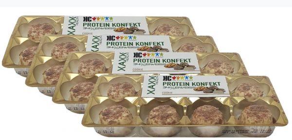 HC Protein Konfekt Cookies & Cream 4er Vorteilspreis