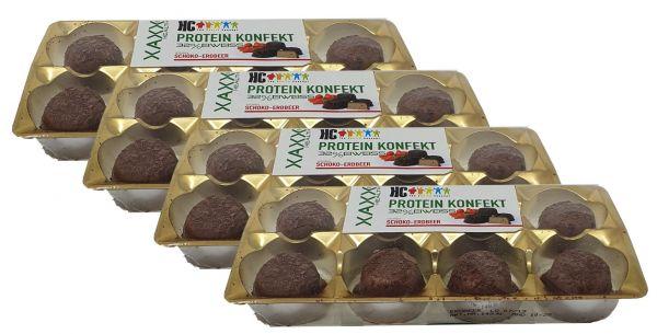 HC Protein Konfekt Schoko -Erbeer 4er Vorteilspreis