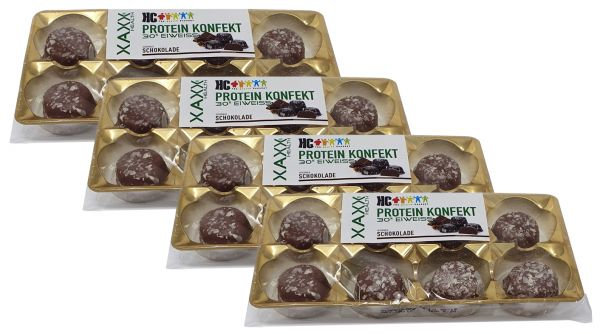 HC Protein Konfekt Schoko 4er Vorteilspreis